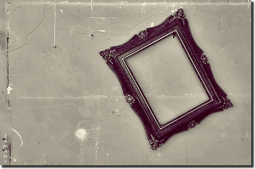 An Empty Picture Frame
